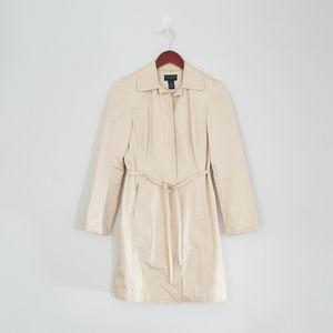 👠Tan Tailored Trench Coat